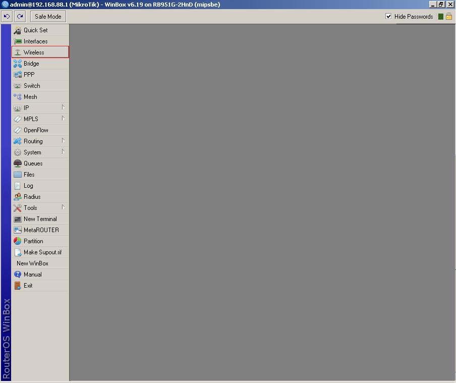 Настройки роутеров для VPN-соединения Microtik 915G-2HnD